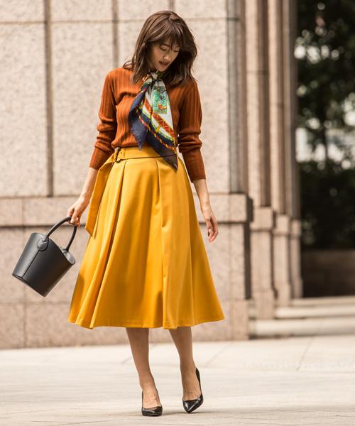 今季豊作なスカートは「ひざ下丈」をチョイスして!