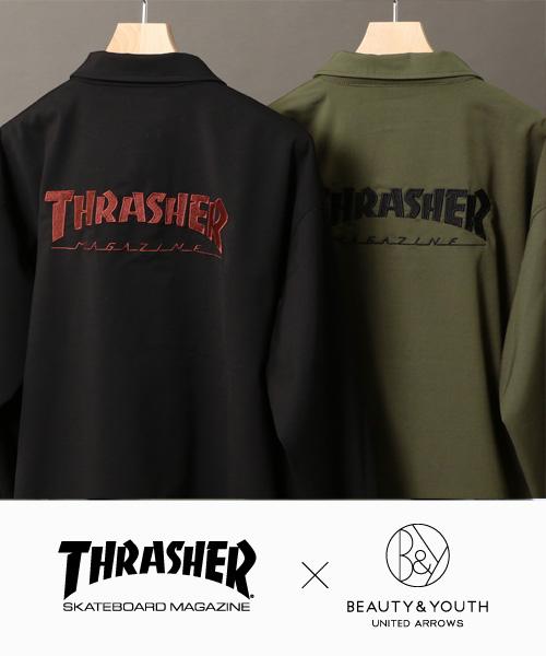 ■別注アイテム■<THRASHER>との別注コーチジャケットが登場!
