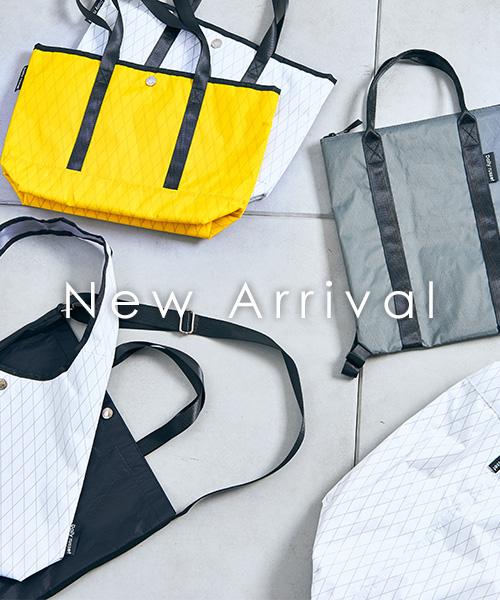 アウトドアブランドも大注目の素材【X-PAC】を使用した新作バッグと小物が登場!
