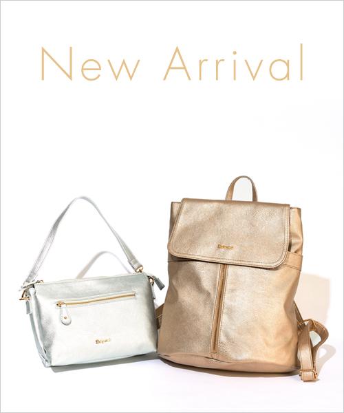 ◆New Arrival◆メタリックカラーで夏を先取り!