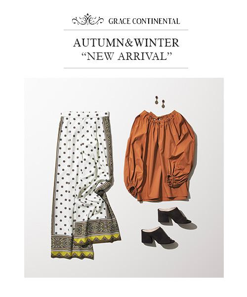 "AUTUMN&WINTER ""NEW ARRIVAL"""
