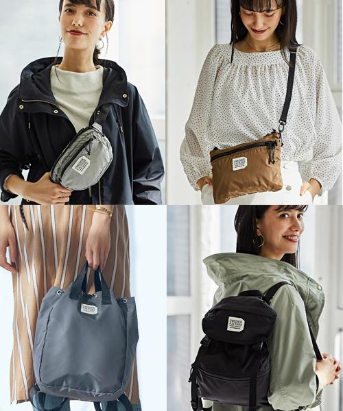 ◆春の新作◆fredrik packers 大人カジュアルに最適なおすすめバッグ