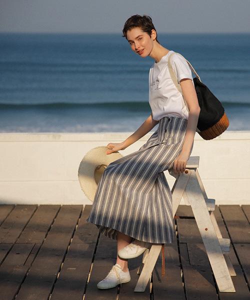 夏を涼しく過ごす、スカート入荷