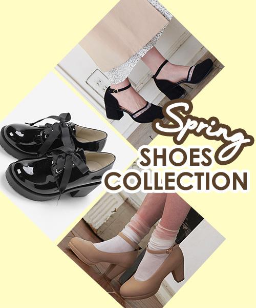 春のおしゃれは足元から!【Shoes Collection】