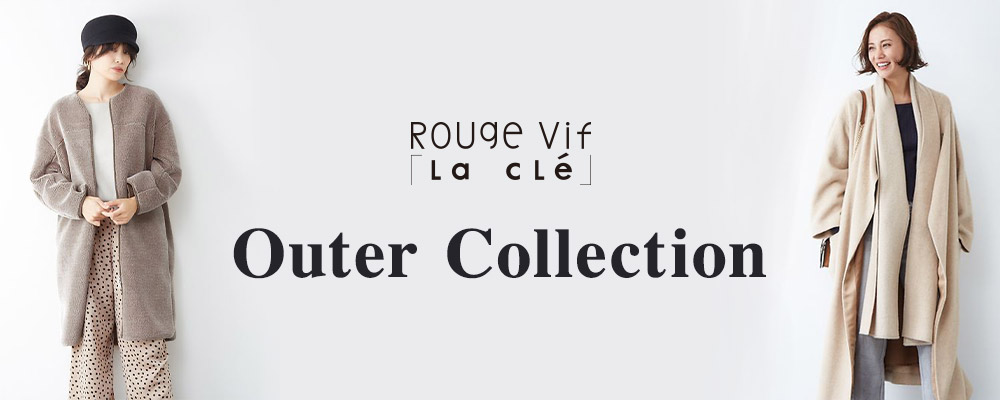 Rouge vif la cle OUTER COLLECTION