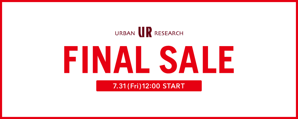 URBAN RESEARCH SALE