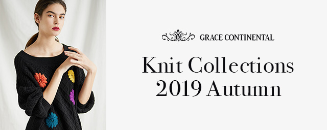 GRACE CONTINENTAL Knit Collections 2019 Autumn
