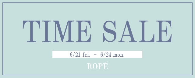 ROPE' TIME SALE