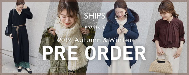 2019 Autumn & Winter PRE ORDER