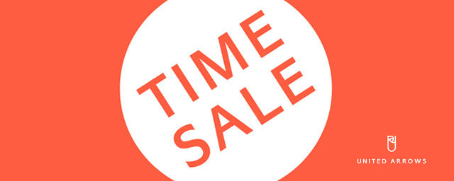 UNITED ARROWS TIME SALE