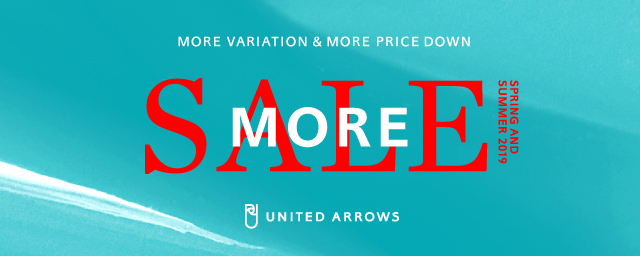 UNITED ARROWS MORE SALE