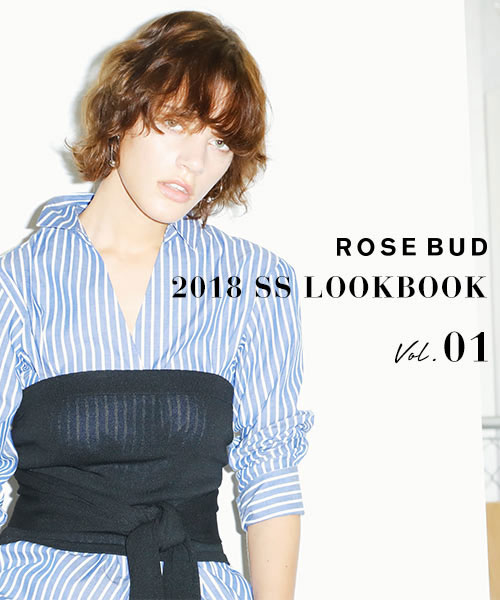 2018 SS LOOK BOOKアイテムが予約開始です!!
