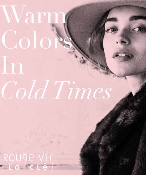 冬のムードが加速する、最新LOOKBOOKを公開。