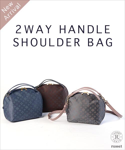 ◆New Arrival◆2WAY HANDLE SHOULDER BAG