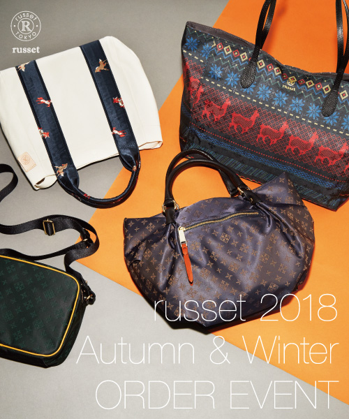 2018 Autumn/Winter collection 受注会スタート!