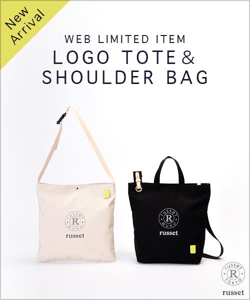 ◆WEB LIMITED◆TOTE&SHOULDER BAG 厚みのあるキャンバスにブランドロゴをプリントした、カジュアルで新鮮な印象のアイテムです!