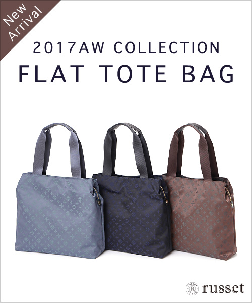 ◆New Arrival◆FLAT TOTE BAG!新デザインのトートバッグが登場です!