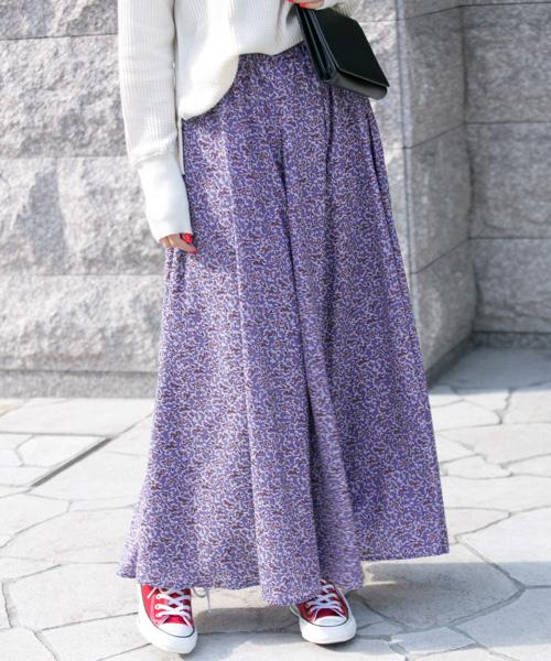 春の新作!一点投入で華やぐ花柄プリントスカートも!