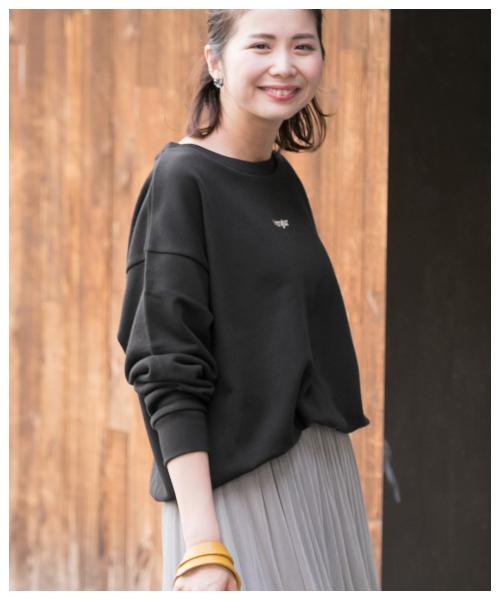 Wrangler×Sonny Label 別注Wrangler刺繍ロゴスウェット