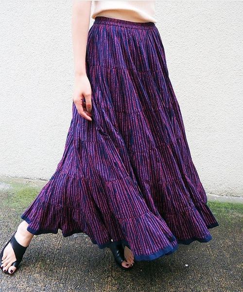 夏に着たい!ミディ~ロング丈のスカートをピックアップ!