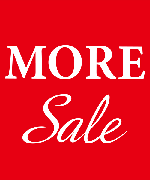 ≪MORE SALE ≫開催中!冬物さらに値下げ!