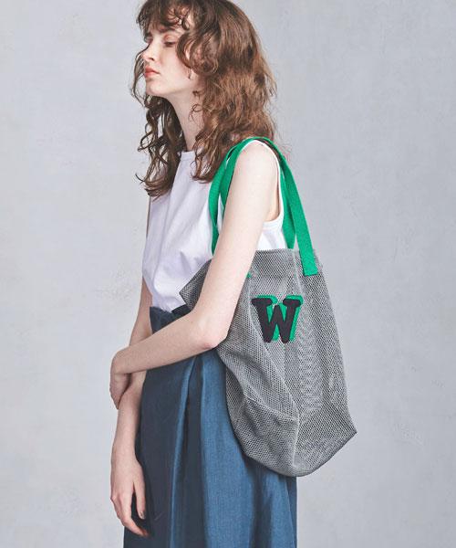 【2019春夏予約】<LUDLOW>メッシュトートバッグ