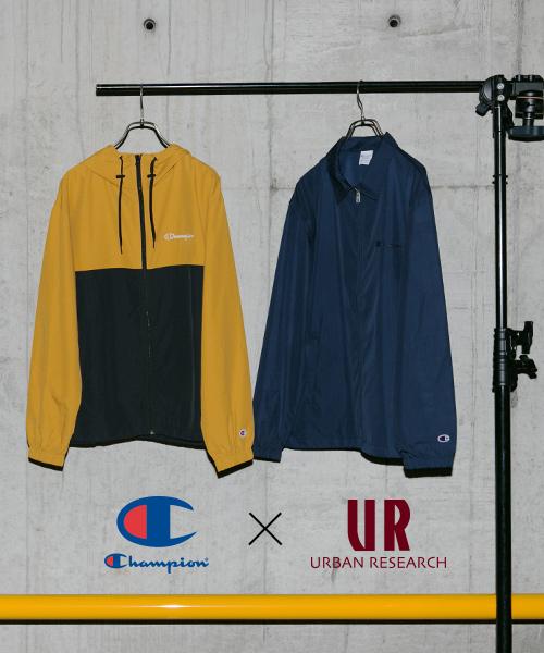 毎シーズン大ヒットを記録する「Champion × URBAN RESEARCH」の2019 Spring/Summerスペシャルコレクション。