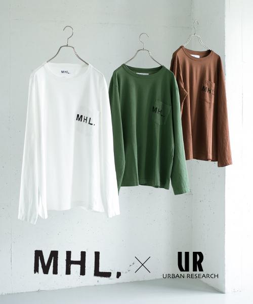 「S~」の幅広いサイズ展開で女性にもおすすめ!「MHL.」コラボTシャツ2018Autumn/Winterバージョン予約開始。