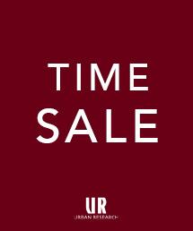 TIME SALE開催!対象のSALEアイテムが最大50%OFF!7/17(火)17:59まで