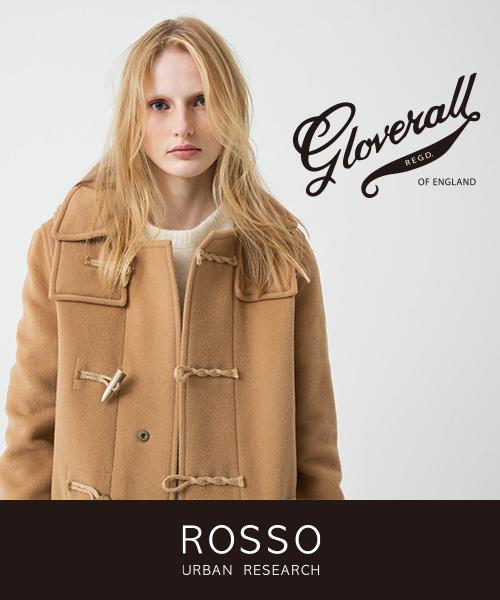 英国ダッフルコート・ブランドの代名詞となっているGloverallの予約がスタート!ROSSO別注デザインもご用意致しました。